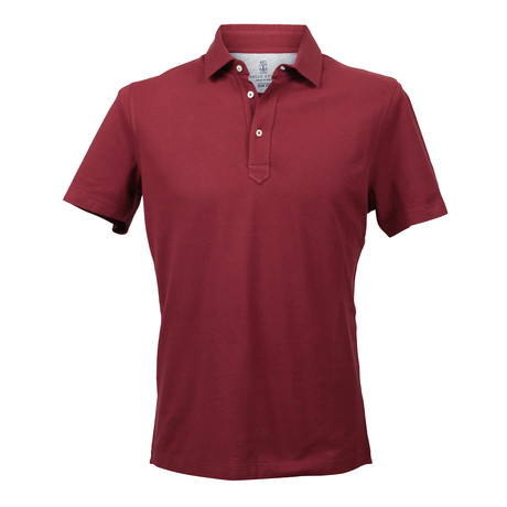 Slim Fit Polo Shirt V2 // Red (XS)