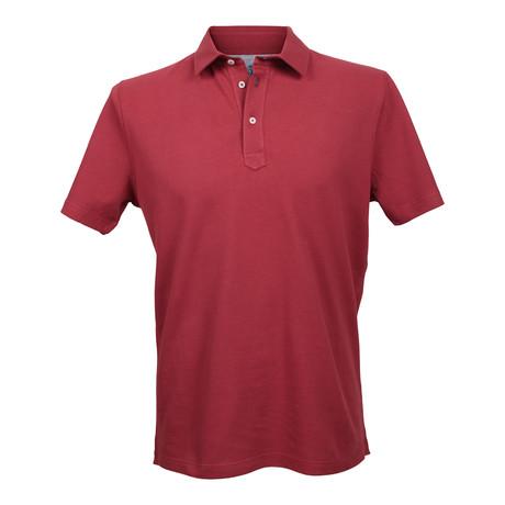 Slim Fit Polo Shirt V3 // Red (XS)