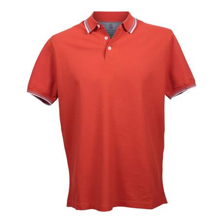 Regular Polo Shirt // Vermilion (XS)