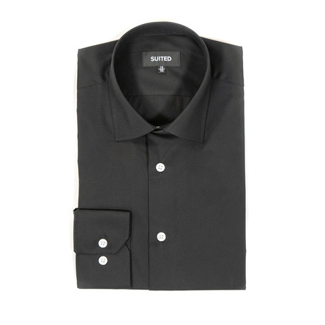 Floyd Business Dress Shirt // Black (US: 14.5A)