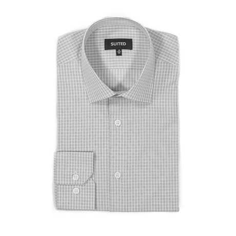 Fowler Business Dress Shirt // Gray (US: 14.5A)