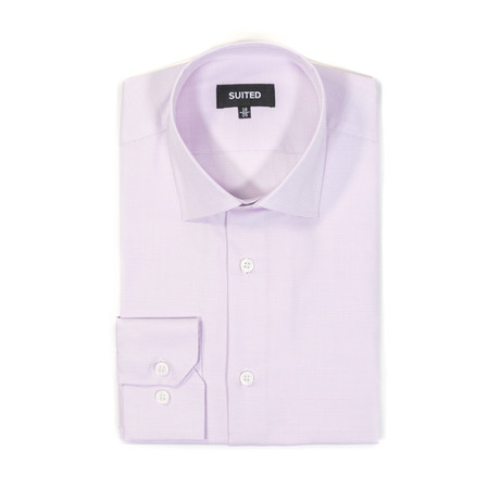 Rivas Business Dress Shirt // Light Pink (US: 14.5A)