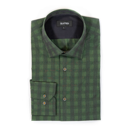 Sawyer After-Hours Dress Shirt // Hunter Green (S)