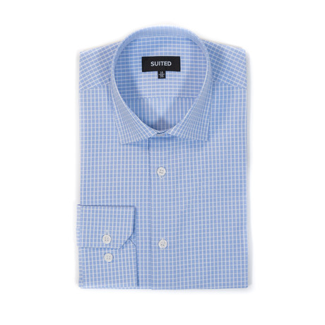 Aguilar Business Dress Shirt // Light Blue (US: 14.5A)