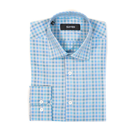 Ballard Business Dress Shirt // Light Blue (US: 14.5A)