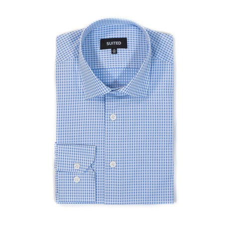 Schmidt Business Dress Shirt // Light Blue (US: 14.5A)
