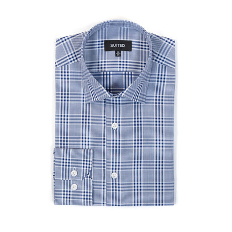Beltran Business Dress Shirt // Navy (US: 14.5A)