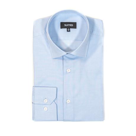 Miranda Business Dress Shirt // Light Blue (US: 14.5A)