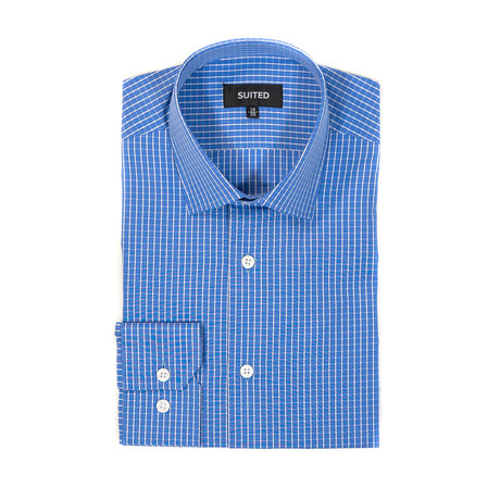 Barajas Business Dress Shirt // Blue (US: 14.5A)