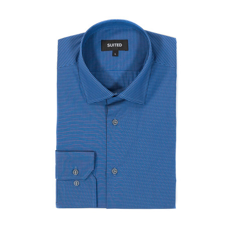 McPherson After-Hours Dress Shirt // Royal + Black (S)