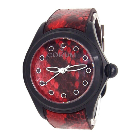 Corum Bubble 47 Red Python Automatic // L082/02981 // New