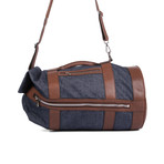 Back Pack Duffel Bag // Denim Blue