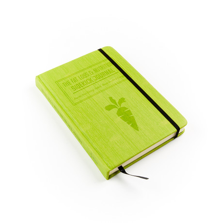 Fat Loss + Nutrition Sidekick Journal (Pear Green)
