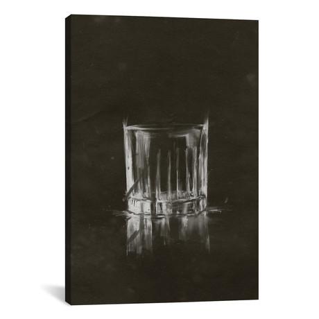 "Crystal Barware VII // Ethan Harper (26""W x 18""H x 0.75""D)"