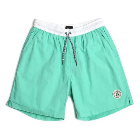 Seeker Tub Volley Swim Shorts // Bermuda (S)