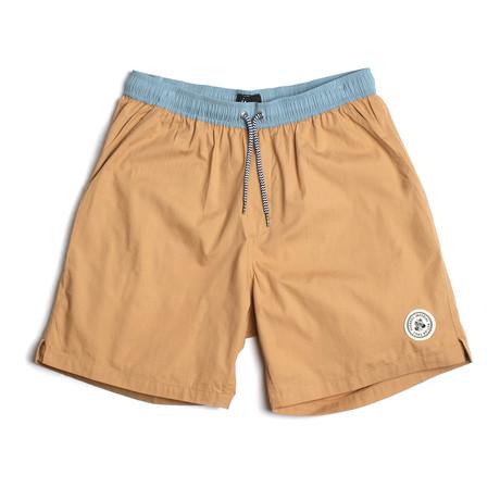 Seeker Tub Volley Swim Shorts // Rattan (S)