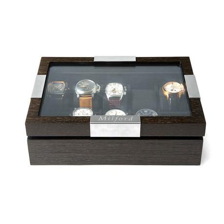 Panera 10 Watch Box // Walnut Wood Finish