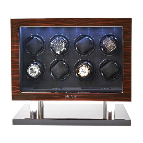 Enigma 8 Watch Winder // Ebony Wood Finish