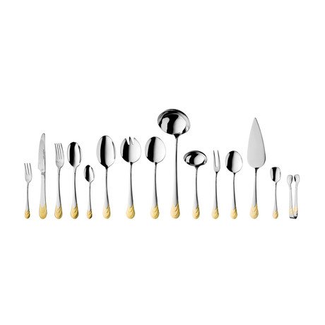 Waterfall Flatware Set // 72 Piece