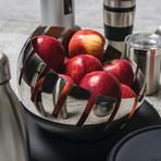 Essentials 2Pc Stainless Steel Fruit Bowl Set // Zeno