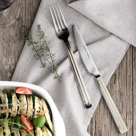 Heritage Flatware Set // 72 Piece