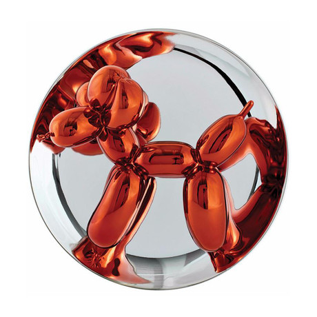 Jeff Koons // Balloon Dog (Orange) // 2015