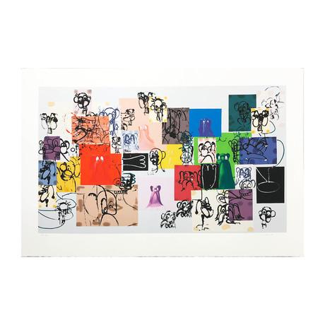 George Condo // Paper Faces // 2000