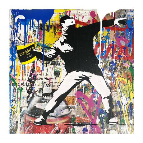 Mr. Brainwash // Banksy Thrower // 2018