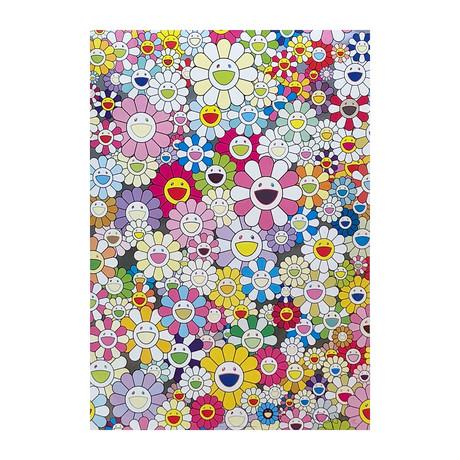 Takashi Murakami // An Homage To Yves Klein - Multicolor A // 2012