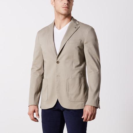 Stretch Cotton Jacket // Khaki (US: 36S)