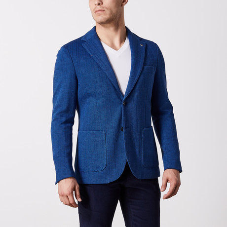 Herringbone Jacket // Blue Bone (US: 36R)