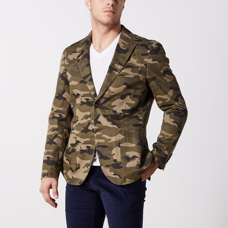 Camo Print Jacket // Camo (US: 36S)