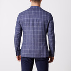 Windowpane Jacket // Blue (US: 42R)
