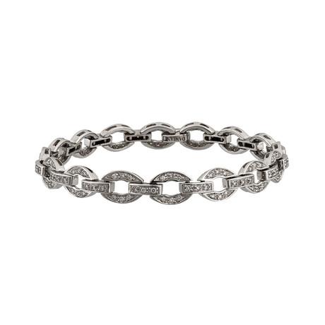 Vintage Damiani 18k White Gold Diamond Bracelet