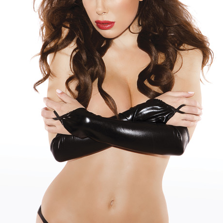 Sexy Siren Gloves // Black