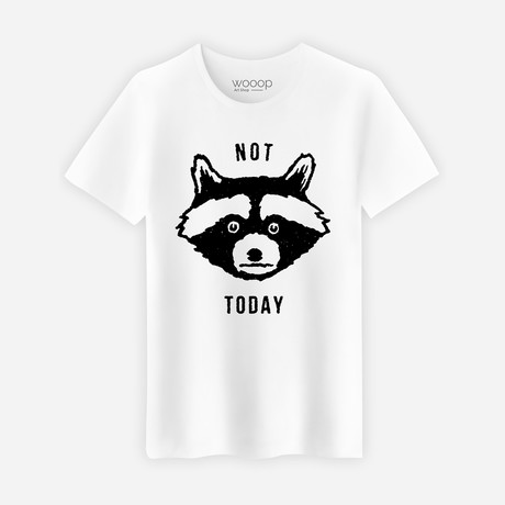 Not Today T-Shirt // White (S)