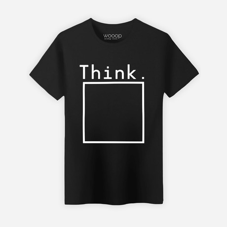 Think Box T-Shirt // Black (S)