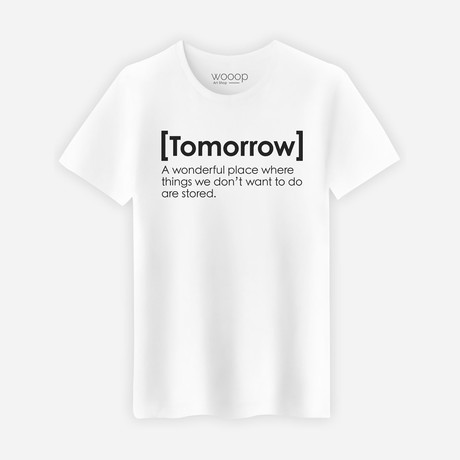 Tomorrow T-Shirt // White (S)