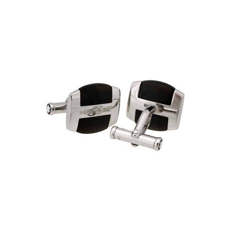 Montblanc Silver Collection Cufflinks // 35821