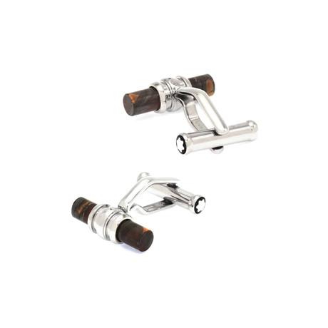 Montblanc Tiger Iron Cufflinks // 107590