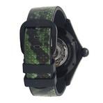 Corum Bubble 42 Green Python Automatic // L082/02996 // New
