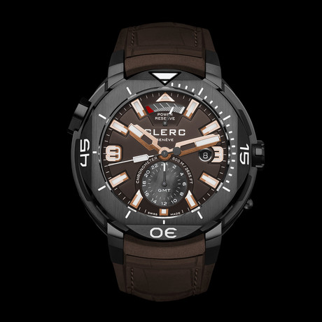 Clerc Hydroscaph GMT Automatic // GMT-2.10R.3 // Store Display