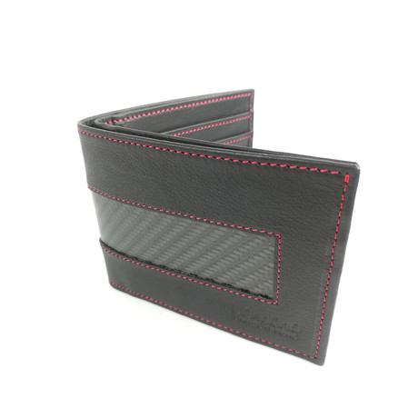 Sports Wallet // Red Stitching