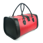 Pilot Duffle Bag // Black + Red