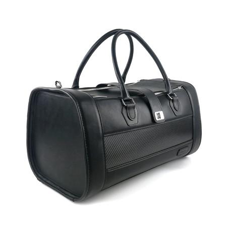 Pilot Duffle Bag // Black + Carbon Fiber