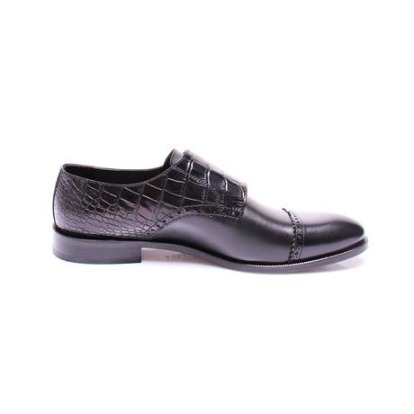 Anthony Monk Strap Dress Shoes // Black (Euro: 39)