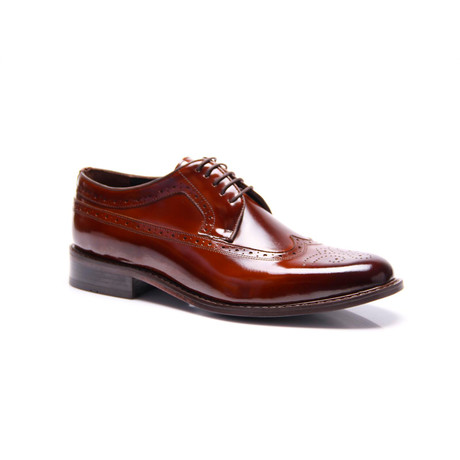 Wingtip Dress Shoes // Cognac (Euro: 39)