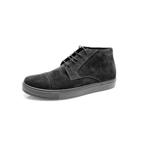 Suede Boot // Black (Euro: 39)