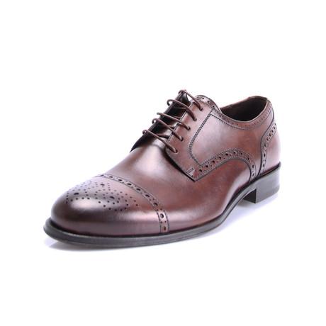 Eric Cap Toe Dress Shoes // Brown (Euro: 39)