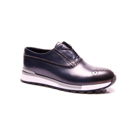 Dressy Slip-On Sneaker // Dark Blue (Euro: 39)